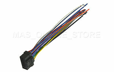 wire harness for alpine cde-9846 cde9846 *pay today ships today*