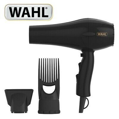 Wahl ZX052 PowerPik Turbo Afro Hair Dryer with Afro Comb Pik Attachment 1250W