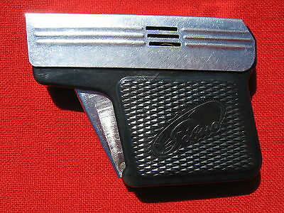 Vintage Petrol Lighter  In A Shape Of A Small Pistol