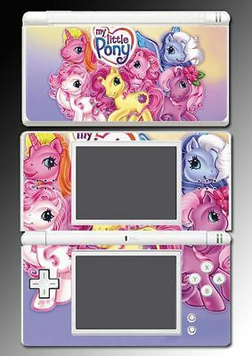 My Little Pony Fluttershy Brony Bronies Vinyl Game Skin Cover Nintendo DS Lite