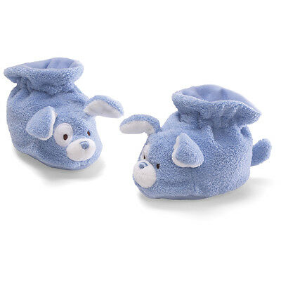 BABY GUND - CUTIE BOOTIES - Blue Puppy Dog Baby Booties - #4030421 - CLEARANCE!