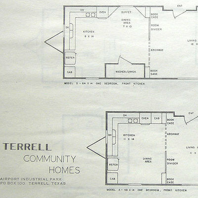Vtg Home Planners Inc Blueprint For Home