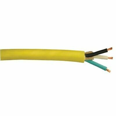 1000' 10/3 SOOW SO Yellow Extension Power Cord Lasting Cable 600 Volt Wire