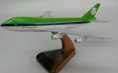 B-747 Aer Lingus Boeing B747 Airplane Wood Model Free Shipping myasianart