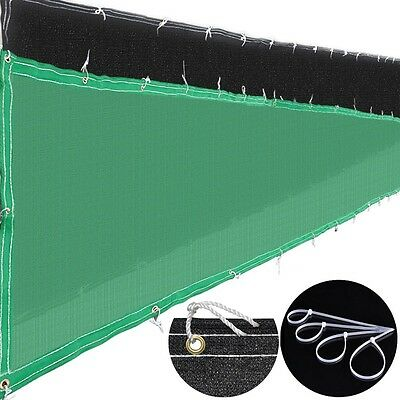 50ft Privacy Fence Mesh Screen Windscreen Fabric For 4ft/6ft Outdoor Fencing Opt