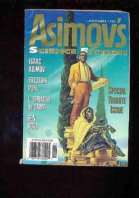PULPS / DIGEST Asimov's Science Fiction 11.19921 Spécial Tribute Issue ASIMOV