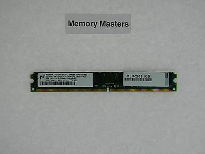 2911 MEM-2900-512U1.5GB 1GB Memory Approved For Cisco 2901 2921 ISR Routers