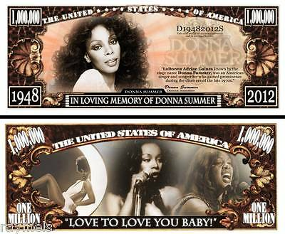 In Memory Donna Summer Queen of 70's Disco Grammy Award Winner 2 for 1 price NEW