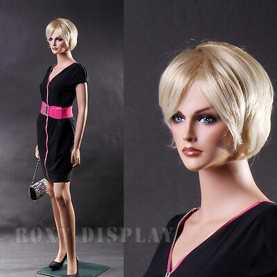 Fiberglass Female Display Mannequin Manikin Manequin Dummy Dress Form MZ-LISA1