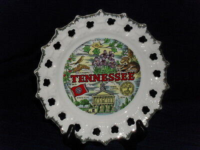 """8.5"""" TENNESSEE souvenir STATE Collector's PLATE"""