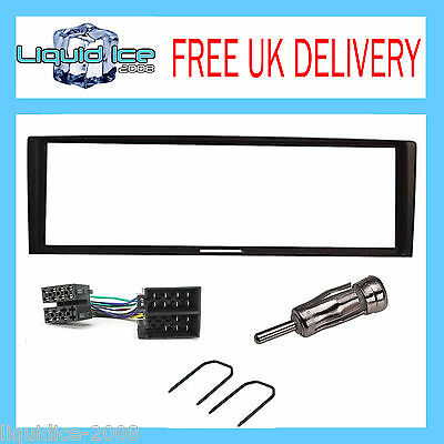RENAULT MEGANE HATCHBACK MK2 2002 to 2008 BLACK FASCIA PANEL ADAPTOR FITTING KIT