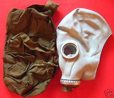 Civil GAS MASK for NBC  different from Israeli style S