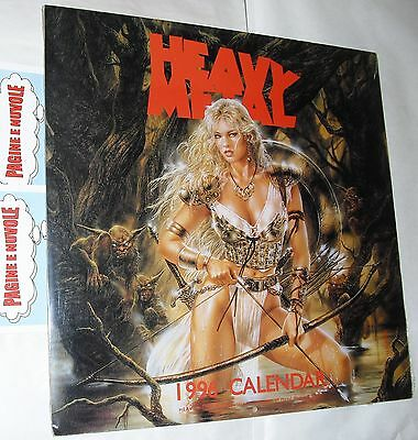 luis royo - HEAVY METAL calendar 1996 - calendario in inglese - BLISTERATO!!!