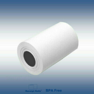 "2 1/4"" x 85' Thermal Credit Card Paper Rolls 200 rolls"