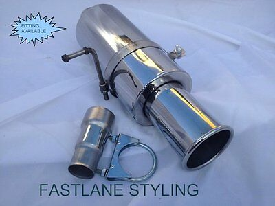 Ford Mondeo Orion Probe Universal Stainless Steel Performance Exhaust Back Box