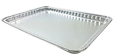 "Oblong Cookie Sheet Pan 16"" x 11"" 20/PK - Disposable Aluminum Foil Trays #7000"
