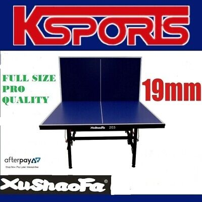 XU SHAO FA 19mm Table Tennis Table Ping Pong Table - ITTF APPROVED MANUFACTURER