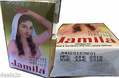 4 x Jamila Pure Henna Powder for Hair Color Conditioning LOWEST PRICE 2015 CROP