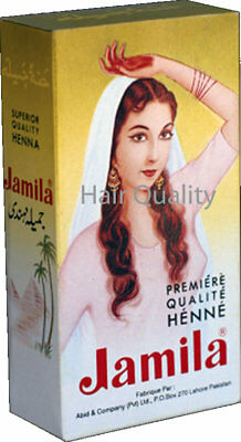 50 Jamila Pure Henna Powder for Hair Color Conditioning LOWEST PRICE