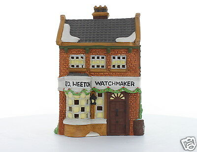Department 56 Dickens' Village Collectible Geo Weeton Watchmaker 1988 #59269
