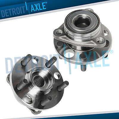 2 Front Wheel Bearing & Hub for 1995 - 2004 2005 Pontiac Sunfire Chevy Cavalier