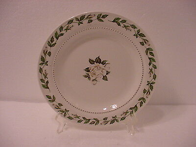 Hall Superior Quality Cameo Rose Salad Plate Mary Dunbar Jewell Institute