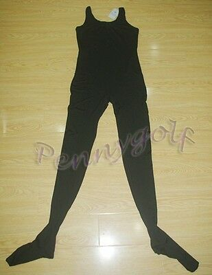 black /&white ballet/&dance men//male//boy footed tights