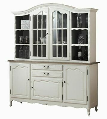Bookshelve Glass Display Cabinet Cupboard - French Provincial Furniture