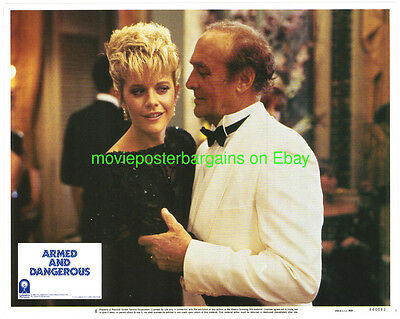 ARMED AND DANGEROUS MOVIE POSTER LOBBY CARD 1986 Young !!  MEG RYAN