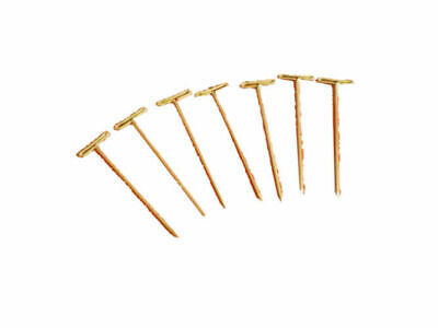 T-PINS 51mm LONG FOR MODELLING & CRAFTS x 40 PINS.