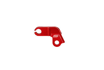 Crf450R 2009 2010 2011 2012 2013 2014 Red Clutch Cable Guide- Billet Alloy- Scar