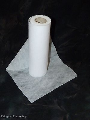 5 mts long x 20 cm wide Embroidery Stabiliser Backing- folded and sent flat