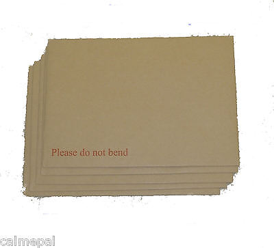 12 x A5 (C5) HARD BACK BOARD ENVELOPES CARD BACKED 229 x 162mm