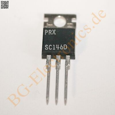 1 x SC146D Triac PRX TO-220 1pcs