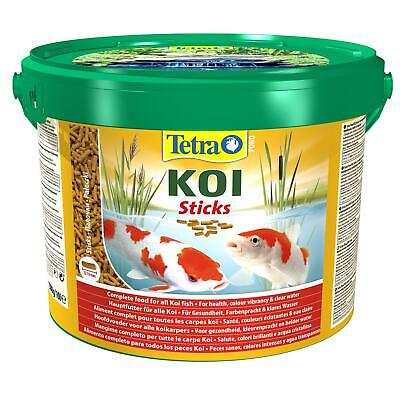 1500g 10 litre TETRA POND KOI STICKS FLOATING FISH FOOD DAILY BUCKET COLOUR DIET