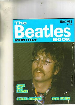 Beatles Monthly Book November 1986 from the UK