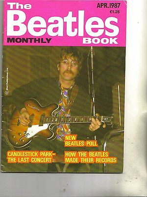Beatles Monthly Book April 1987 from the UK
