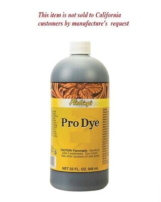 Fiebing's Professional Pro Oil Leather Dye 32 oz. (1Q) - not for CA customers