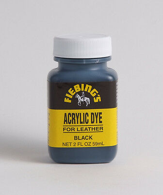 Fiebing's Acrylic Leather Dye  - 2 oz All colors