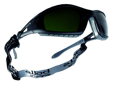 Bolle Tracker II 2 Safety Glasses Goggles - Shade 5 Welding TRACWPCC5