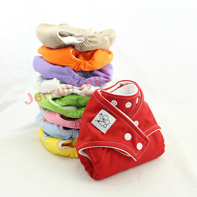 1PCS Adjustable Baby Washable Cloth Diaper Nappy nappies Covers Re-Usable