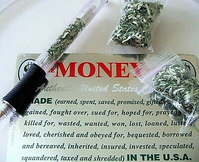US States Currency REAL MONEY LOT 2 Mini BAGS + FREE Money PEN Authentic Retired