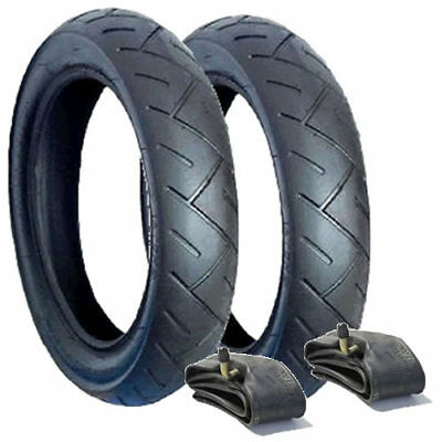 Set Of Tyres & Tubes For Quinny Buzz Pushchair - Posted Free 1St Class