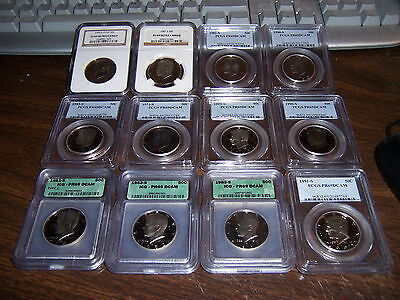 Icg Or Pcgs Or Ngc Or Anacs Graded Coins-Mixed Box -Estate Buy-1 Buy=4 Slabs