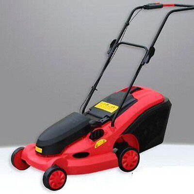"""CLEARANCE SALE! 24V DC 350W 14"""" Cordless Rechargeable LawnMower Electric U MOWER"""