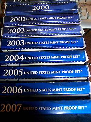1999S Thru 2006S Proof Set-From An Estate Lot Read!!- I Purchase 1 Proof Set