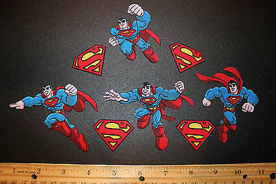 Superman Fabric Iron On Appliques - style #3