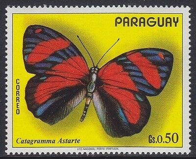 Paraguay 1973 - Farfalle - Butterfly - C. 50 - Mnh