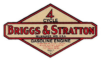 Briggs & Stratton (A083) Vinyl Sticker