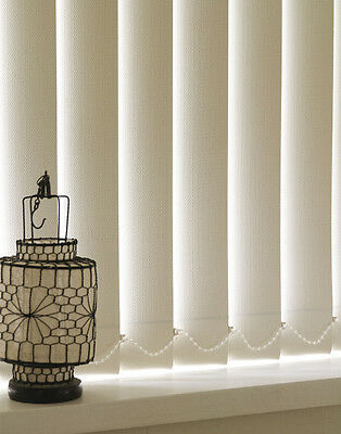 Vertical Blind Slats - 89mm & 127mm  Fabrics - Standard & Blackout Fabrics